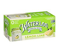 Waterloo Lime Sparkling Water - 8-12 FZ
