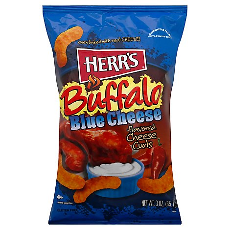 Herrs Buffalo Blue Cheese Snack - 3 OZ