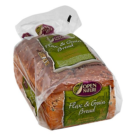 Open Nature Flax & Grain Bread - 24 OZ