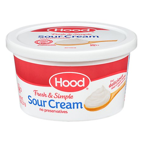 Hood Sour Cream 8 Oz - 8 OZ