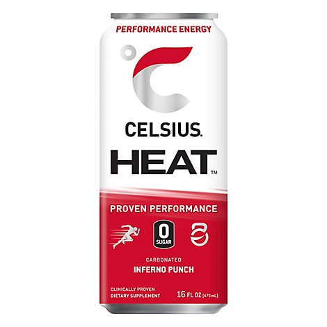 Heat By Celsius Inferno Punch - 16 FZ