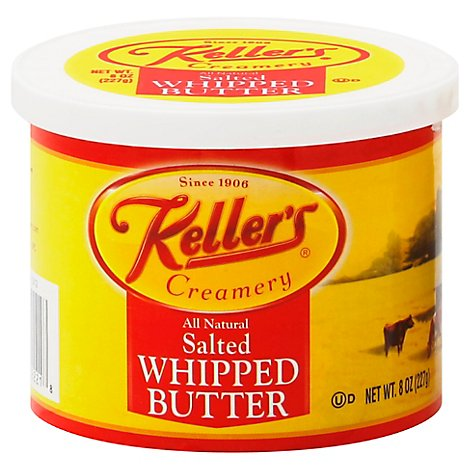 Kellers Whipped Butter - 8 OZ