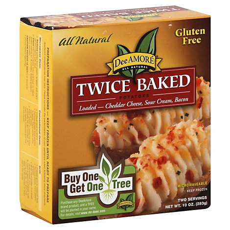 Dee Amore Twiced Baked Loaded Potato Sour Cream Bacon - 10 OZ