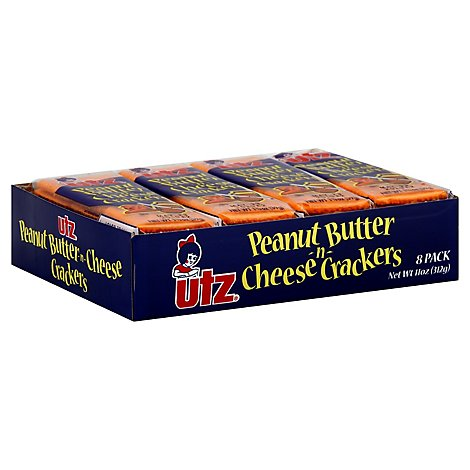 Utz Cheese Peanut Butter Cracker - 11 OZ