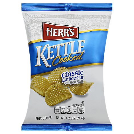 Herrs Kettle Potato Chips - 2.625 OZ