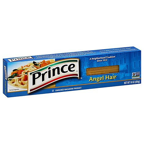 Prince Pasta Angel Hair - 16 Oz