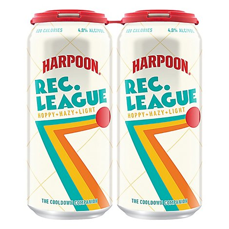 Harpoon Rec League In Cans - 4-16 FZ