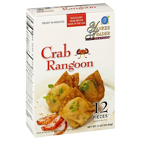 Yankee Trader Crab Rangoon - 11 OZ
