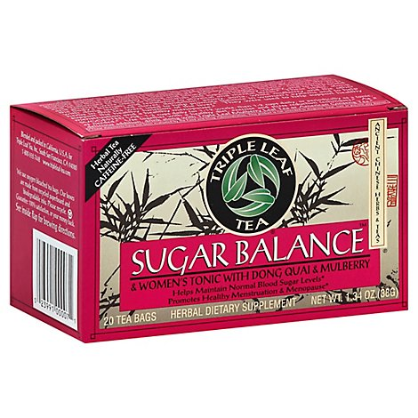 Triple Leaf Tea Sugr Blnc Womenstonic - 20 CT