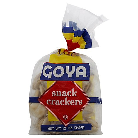 Goya Snack Crackers - 12 OZ