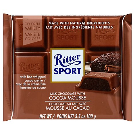 Ritter Bar Mc Cocoa Mousse - 3.5 OZ