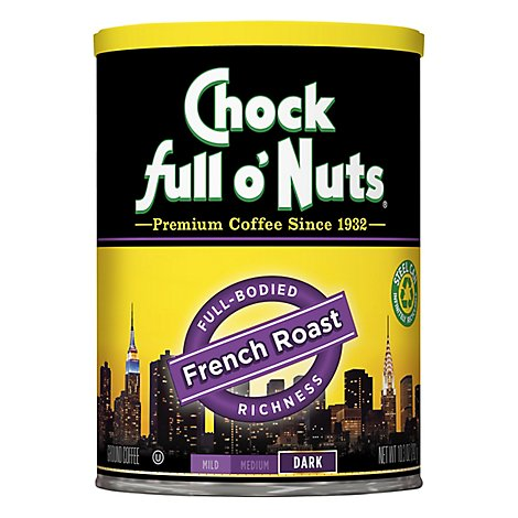 Chock Full O Nuts French Roast - 10.3 OZ
