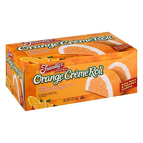 Friendlys Seasonal Roll Ice Cream - 48 FZ