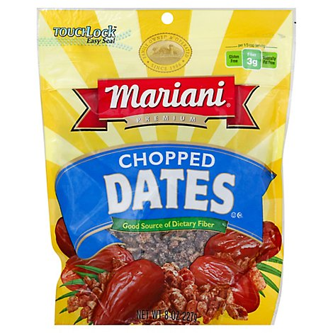 Mariani Chpd Dates - 8 OZ
