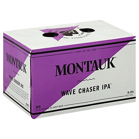 Montauk Wave Chaser Ipa 6 Count Cans - 6-12 FZ