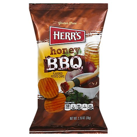 Herrs Barbecue Honey Potato Chips - 2.75 OZ