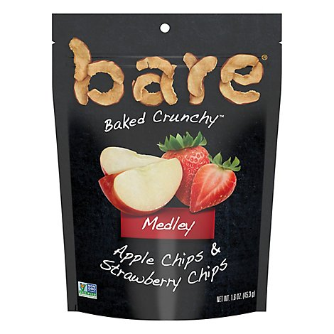 Bare Baked Crunchy Apple & Strawberry Chips - 1.6 OZ