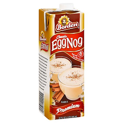 Borden Egg Nog Milk Premium - 32 Fl. Oz.