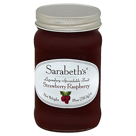Sarabeths Fruit Sprd Strwbry - 18 OZ
