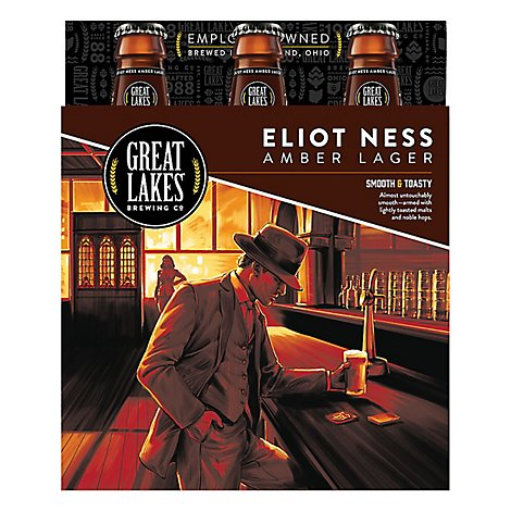 Great Lakes Eliot Ness In Bottles - 6-12 FZ