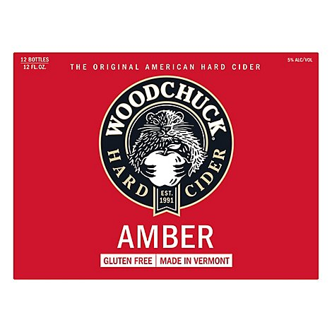 Woodchick Cider Apple Amber Draft - 12-12 FZ