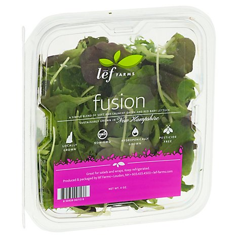 Lef Farms Fusion Baby Lettuce Blend - 4 OZ