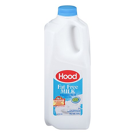 Hood Vitamin A C And D Fat Free Milk - HG