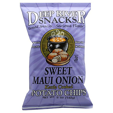 Deep River Chips Kttl Swt Maui Onion - 5 OZ