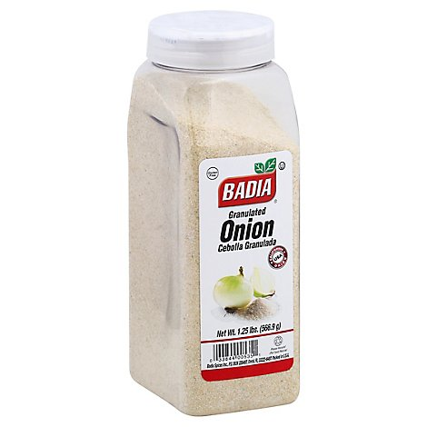 Badia Onion Granulated - 1.25 LB