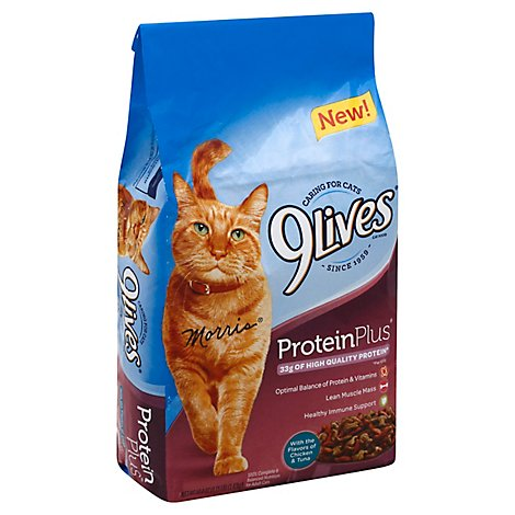 9lives Protein Plus Chkn Tuna Cat Food - 3.15 LB