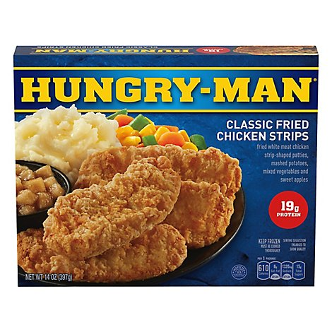 Hungry Man Classic Fried Chicken Strips - 14 OZ