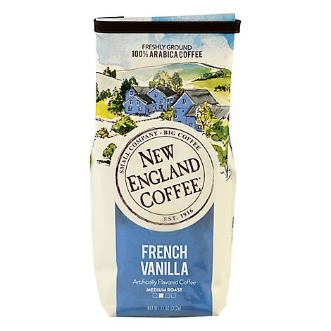 New England Coffee French Vanilla Bag - 11 OZ