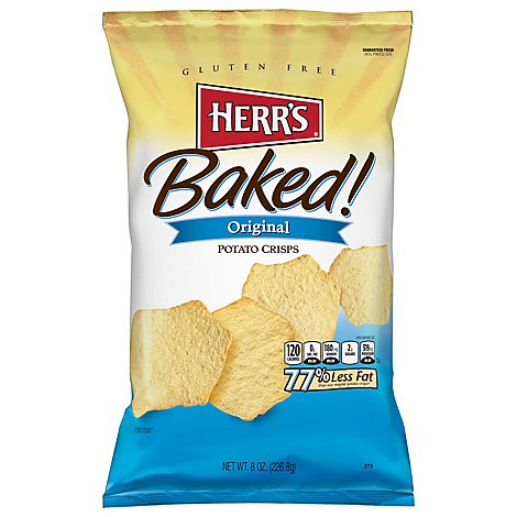 Herrs Original Baked Potato Crisps - 8 OZ