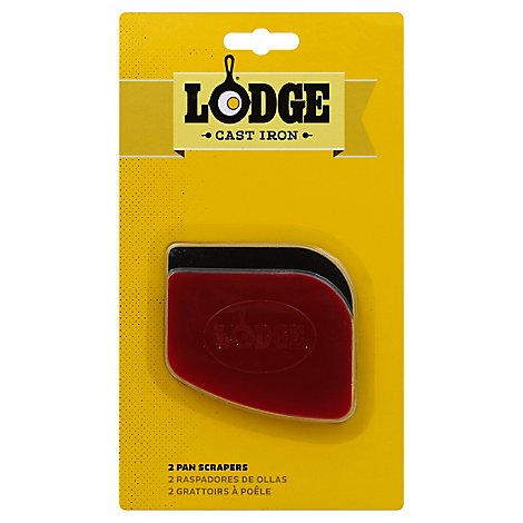 Lodge 2 Count Grill Scrapper - EA