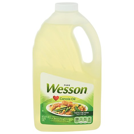 Wesson Canola Cooking/salad - 64 FZ
