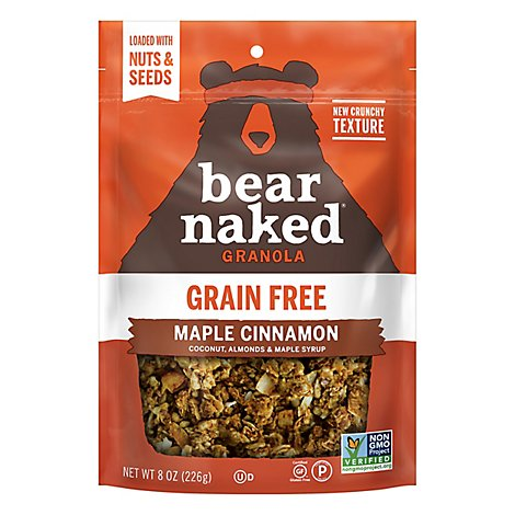 Bear Naked Maple Cinnamon Granola - 8 OZ