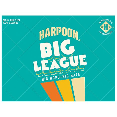 Harpoon Big League 12pk In Cans - 144 OZ