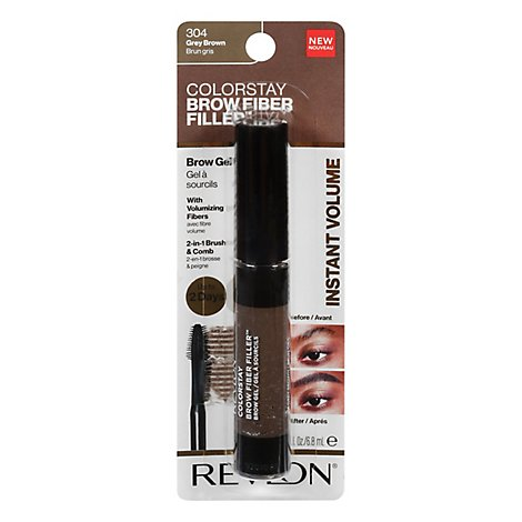 Revlon Cs Brow Fiber Filler Grey Brwn - .23 FZ
