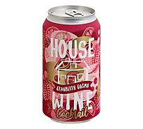 House Wine Cranberry Cosmo Can Wine - 375 ML