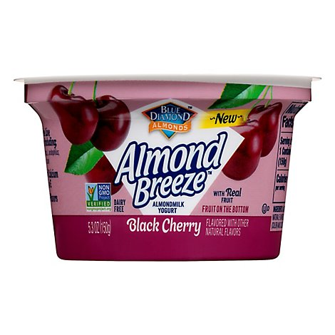 Blue Diamond Almond Breeze Yogurt Black Cherry - 5.3 Oz