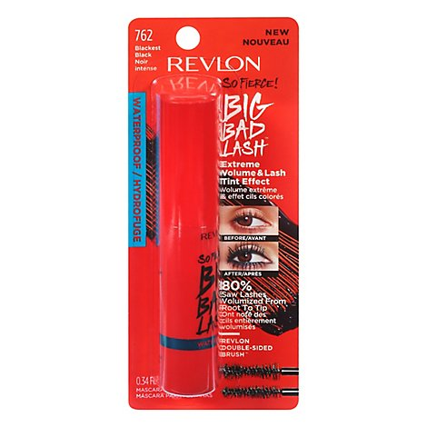 Revlon So Frc Bb Wtp Mascara Blk Blk - .34 FZ