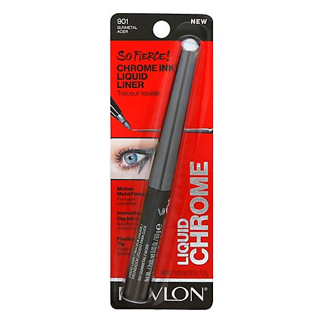 Revlon So Frc Chrm Ink Lq Inr Gunmtal - .03 OZ