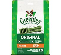 GREENIES Dental Treats For Dogs Original Petite - 12 Oz