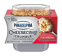 Philadelphia Cheesecake Crumble Strawberry - 6.6 OZ
