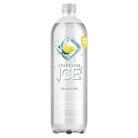 Sparkling Ice Lemon Lime With Antioxidants And Vitamins Zero Sugar - 33.8 FZ