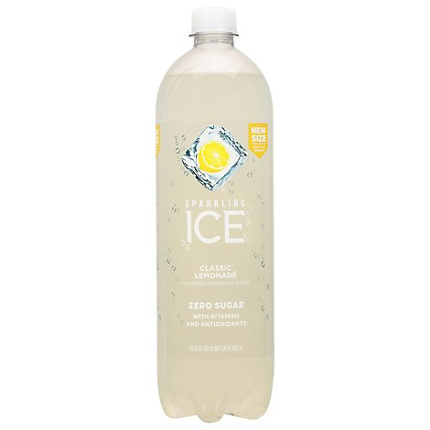 Sparkling Ice Classic Lemonade With Antioxidants And Vitamins Zero Sugar - 33.8 FZ