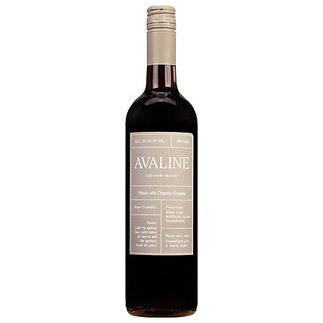 Avaline Red Blend Wine - 750 ML