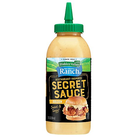 Hidden Valley Rustic Ranch Secret Sauce - 12 FZ
