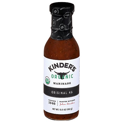 Kinders Organic Original 46 Marinade - 13.5 OZ