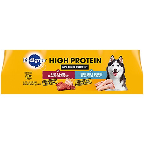 Pedigree High Protein Variety Pack - 12-13 OZ